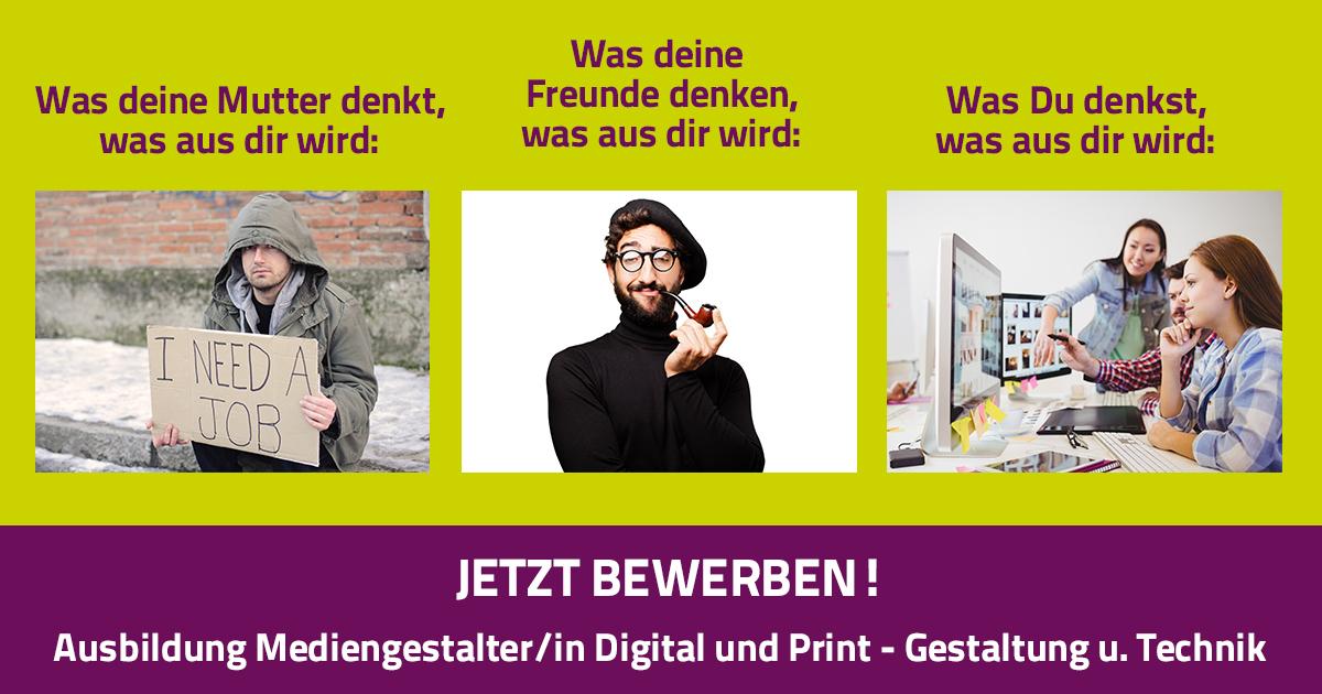 Ausbildung Mediengestalterin Digital Und Print Gestaltung U Technik